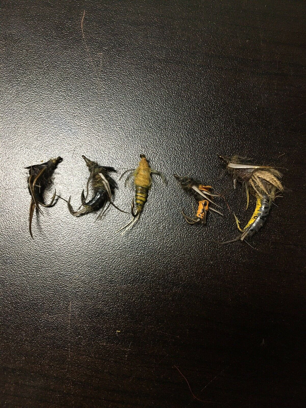 Vintage Fly Fishing Lot Of 5 8075