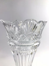 "Load image into Gallery viewer, Large Shannon Crystal 14"" Vase - 5729"