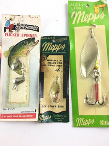 Vintage Fishing Lures Lot Of 5 5061