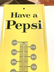 "Vintage NOS Pepsi Thermometer ""Have A Pepsi""- 4941"