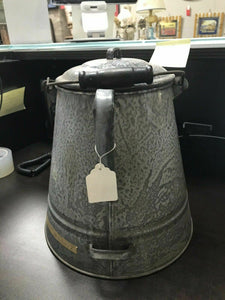 Extra Large 4-Handle Granite Kettle- W1-R
