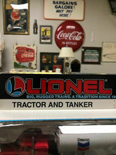 Load image into Gallery viewer, NIB Lionel Tractor And Tanker 6-12777-2455