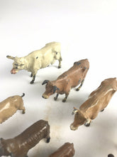 Load image into Gallery viewer, Assorted Lot Of 8 Lead Britains Animal Figurines- 5692