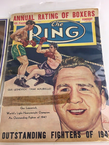Assorted Lot Of 5 Vintage Boxing Magazines-1945-80 MINT-5554