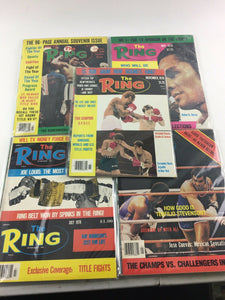 Assorted Lot Of 5 Vintage Boxing Magazines-1978-79 MINT-5487