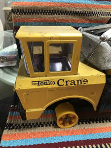 RARE ORIGINAL TONKA MIGHTY MOBILE CRANE 3940 PRESSED STEEL For Parts-9065
