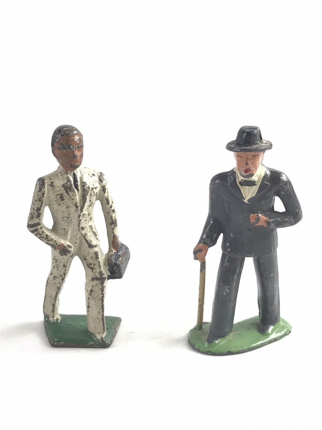 Vintage Lot Of (2) Lead Barclay Gentlemen Figures- 5768
