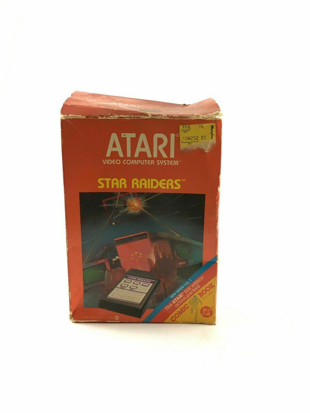 Star Raiders CX2660-1 | w/Atari Video Touch Pad 4677
