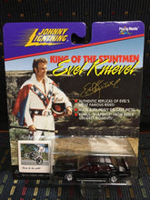 Load image into Gallery viewer, Evel Knievel custom sports car 1998 JOHNNY LIGHTNING 1:64 black