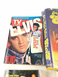 Vintage Lot Of 4 Elvis Books 4672
