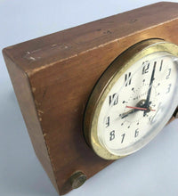 Load image into Gallery viewer, Vintage Westclox Wooden Alarm Clock- 1932