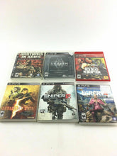 Load image into Gallery viewer, Lot Of 6 Ps3 Games 4670