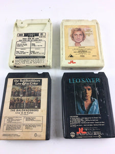 Vintage 8-track Tapes: Leo Sayer, Barry Manilow, The Baldknobbers, Herb Alpert
