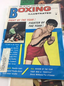 Assorted Lot Of 5 Vintage Boxing Magazines-1971-82 MINT-5476