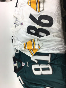 "Philidelphia Eagles And Pittsburgh Steelers ""ward"" & ""Owens""  Size 2XL 4967"