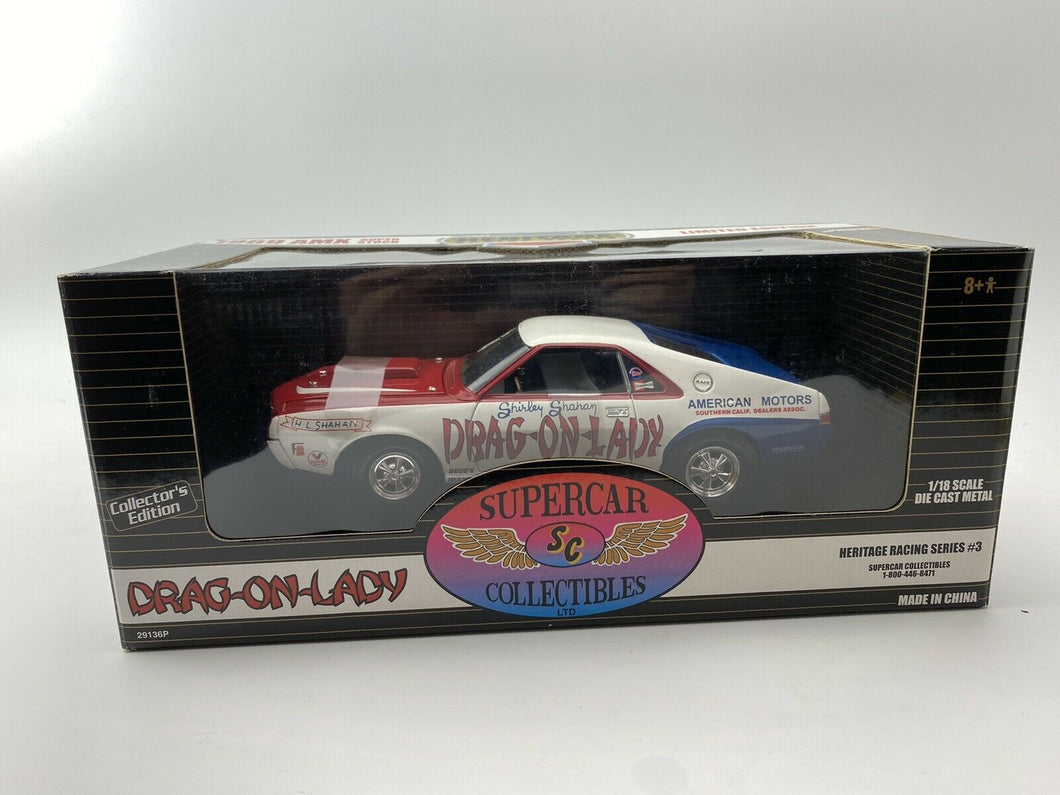 Ertl Supercar Collectibles 1/18 1969 AMX Super Stock