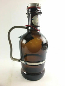 2-Liter West German Glass Growler Kulmbacher Flip-top 4697