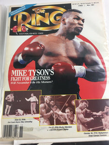 Assorted Lot Of 5 Vintage Boxing Magazines-1990-91 MINT-5543