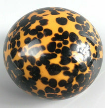 Load image into Gallery viewer, Glass Cheetah Print Paperweight - 1182