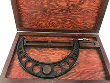 Load image into Gallery viewer, Vintage Brown & Sharpe Micrometer W/ Case- 3742