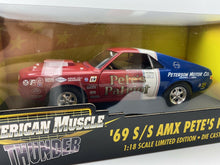 Load image into Gallery viewer, ERTL  1969 S/S AMX Pete's Patriot  Thunder Series 1:18 '69 AMC 2001 PRO STOCK