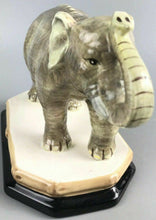 Load image into Gallery viewer, Raymond Waites Empire Porcelain Ceramic Elephant W/ Base- 1193
