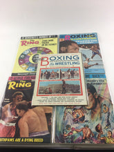 Load image into Gallery viewer, Assorted Lot Of 5 Vintage Boxing Magazines-1965-70 MINT- 5617