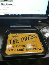 "Load image into Gallery viewer, Vintage ""The Press"" Newspaper Tray"