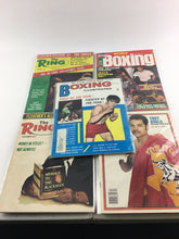 Load image into Gallery viewer, Assorted Lot Of 5 Vintage Boxing Magazines-1971-82 MINT-5476