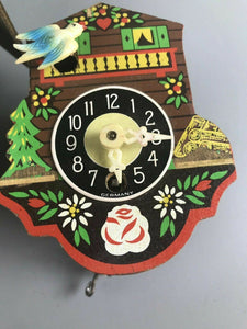 Assorted Lot Of Two Vintage Cuckoo Clocks~Made In Germany- 2709
