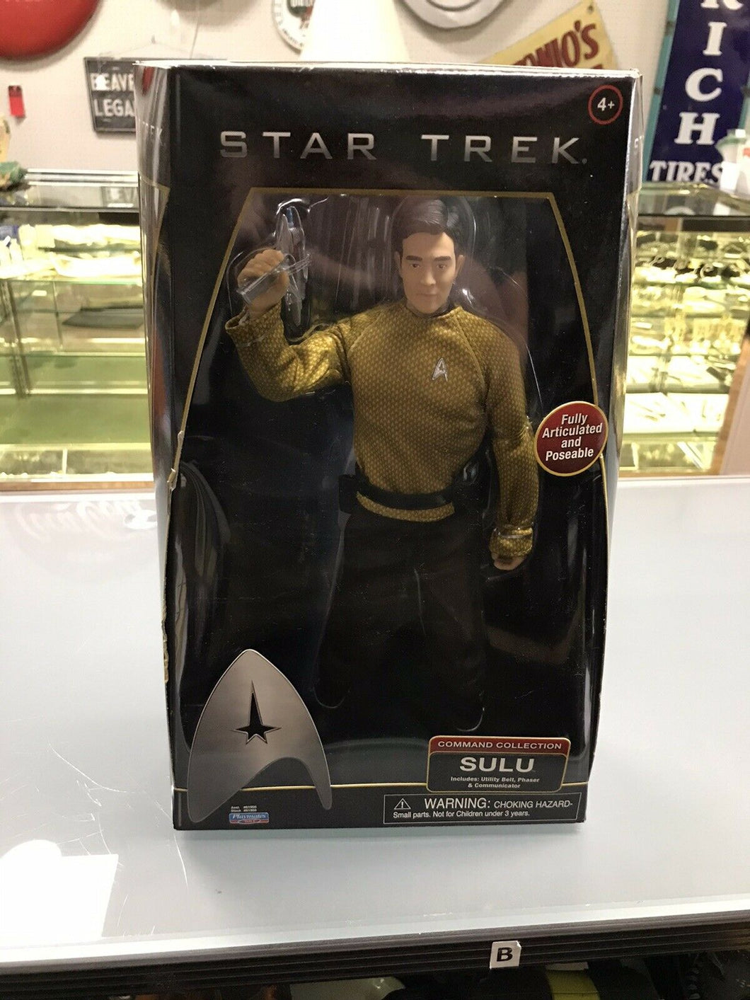 NIB 2009 Star Trek Movie Command Collection Sulu 12