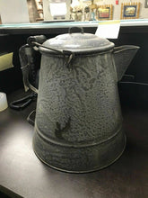 Load image into Gallery viewer, Extra Large 4-Handle Granite Kettle- W1-R