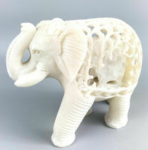 Load image into Gallery viewer, Vintage Soapstone Elephant W/trunk Up- 1198
