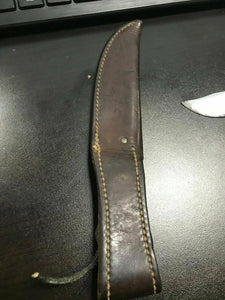 Vintage Casexx Knife W/ Leather Sheith -4360