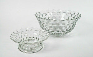 Fostoria Punch Bowl With Base - lot 2726
