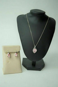 STERLING NECKLACE AND EARRING SET - LOT 3031