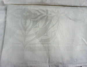 Vintage Damask Tablecloth -Lot 1371