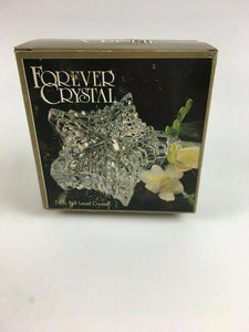 Vintage Forever Crystal Star Box 24% Full Lead - Lot 4203