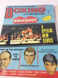 Assorted Lot Of 5 Vintage Boxing Magazines-1963-72 MINT-5499