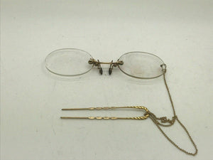 7pc ANTIQUE SPECTACLES LOT - LOT 3479