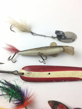 Load image into Gallery viewer, Vintage Fishing Lures Lot Of 5 5454