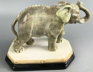 Raymond Waites Empire Porcelain Ceramic Elephant W/ Base- 1193