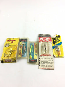 Vintage Fishing Lures Lot Of 5 5020
