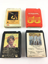 Load image into Gallery viewer, Vintage 8-track Tapes: Steve Miller Band, Steve Martin, Foggy Riv Boys..Etc 5655