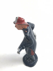 "Vintage Lead Barclay ""Fireman"" Figure-5767"