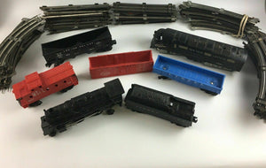 Assorted Lot Of (7) Trains & Tracks - Lot 3953