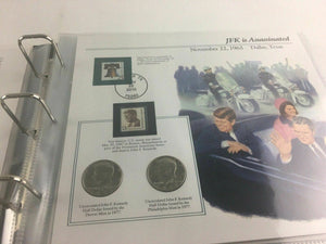 VTG The Complete John F. Kennedy Uncirculated U.S. Half-Dollar Collection -4428