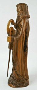 Hand Carved Wood Moses & The 10 Commandments - lot 2727