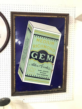 "Load image into Gallery viewer, Vintage GEM A&G Porcelain 35"" Sign W/ Wood Framed"