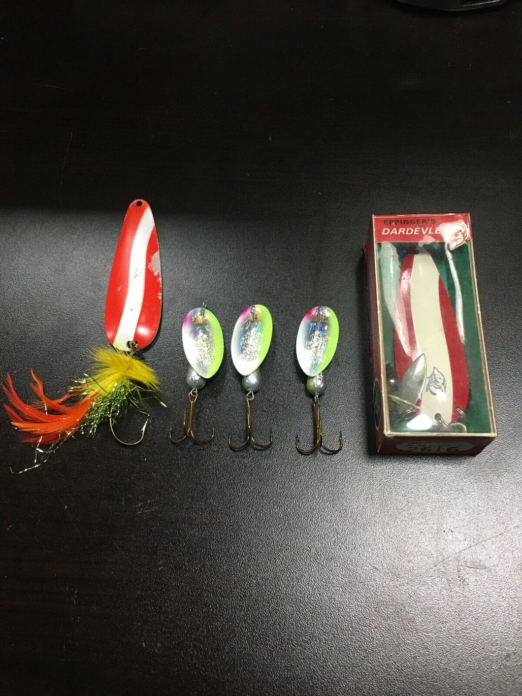 Vintage Fishing Lures Lot Of 5 5787